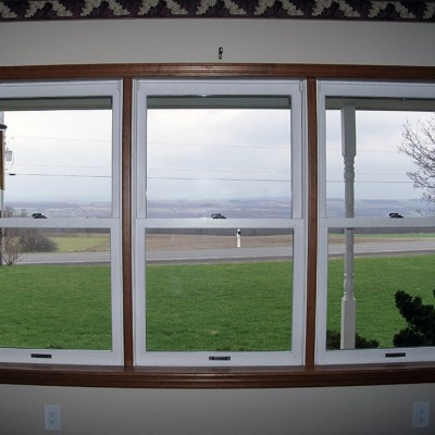 Munnsville - Three Double Hung Windows Inside