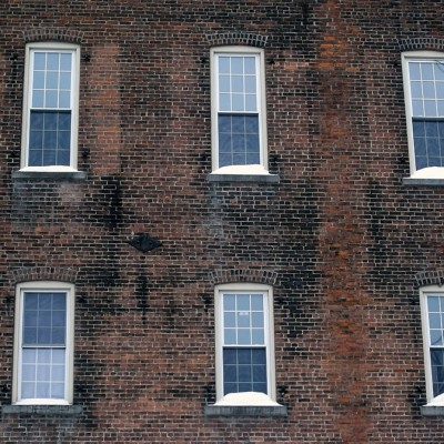 Waterville SpeedWash Window Replacement Back of Building